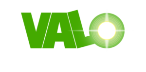 Valo Consulting logo on transparent background